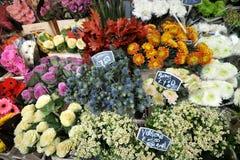 Kolumbien-Straßenblumenmarkt London, Großbritannien Stockfotografie