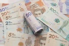 kolumbijski pieniądze Obraz Royalty Free