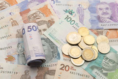 kolumbijski pieniądze Zdjęcia Royalty Free