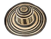 kolumbijski sombrero Zdjęcie Royalty Free