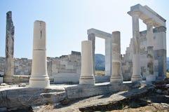 kolumn Greece ruiny Zdjęcie Stock