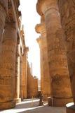 kolumn karnak świątynia Obraz Royalty Free