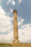 Kolumna świątynia Zeus w Grecja Obrazy Royalty Free