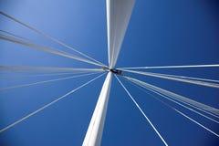 kolumna bridżowi sznurki Obrazy Stock