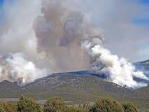 Kolumna dym zdjęcie stock