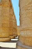 Kolumna Karnak gramatyka Egipt Obrazy Royalty Free