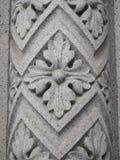 kolumna kwiecisty ornament zdjęcia stock