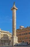 Kolumna Marcus Aurelius, Rzym fotografia stock