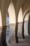 kolumnada średniowieczna zdjęcia royalty free