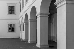 Kolumnada Bratislava kasztel obrazy royalty free