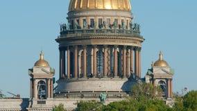 Kolumnada Isaac katedra w lecie obraz stock