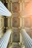 Kolumnada Kazan katedra w Petersburg, Rosja - zbliżenie widok zdjęcie royalty free