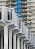 Kolumnada plac Miami obraz stock