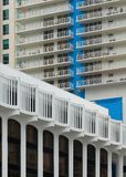 Kolumnada plac Miami obraz royalty free