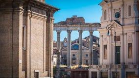 Kolumnada rzymski forum zdjęcie royalty free