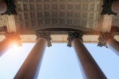 Kolumnada St Isaac katedra w St Petersburg Rosja zdjęcia royalty free