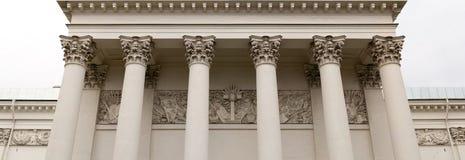 Kolumnada trójcy katedra fotografia stock