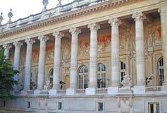 Kolumnada Uroczysty Palais obraz stock
