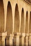 Kolumnada w świętego Francis kwadracie Assisi Zdjęcie Stock
