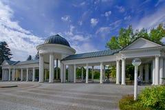 Kolumnada w Marianske Lazne Marienbad - republika czech obrazy royalty free