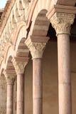 Kolumnada w przyklasztornym Zdjęcia Royalty Free