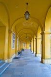 Kolumnada w Schoenbrunn zdjęcia royalty free