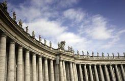 kolumnady Peter Rome s świętego kwadrat Zdjęcia Stock
