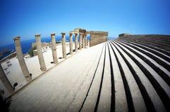 Kolumny świątynia Obrazy Stock