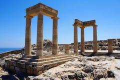 Kolumny świątynia Zdjęcia Royalty Free