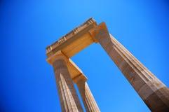 Kolumny świątynia Zdjęcia Stock