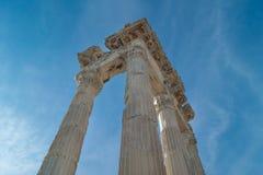 Kolumny świątynia Trajan Fotografia Stock