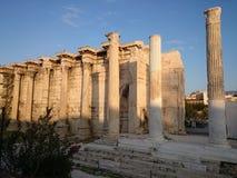 Kolumny, akropol, Ateny Fotografia Royalty Free