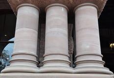 Kolumny budynek Fotografia Royalty Free
