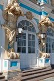 Kolumny Catherine pałac Obrazy Royalty Free