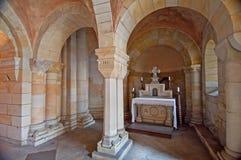 kolumny crypt zdjęcie stock