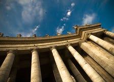 kolumny obciosują Vatican Obrazy Stock
