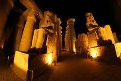 kolumny podwórzowy święty Luxor najwięcej bocznej świątyni Zdjęcie Stock