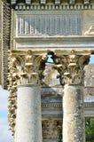 kolumny rzymskie Obrazy Stock