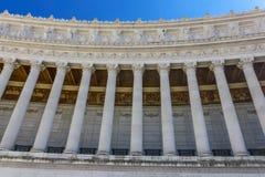 Kolumny Vittoriano zdjęcia stock