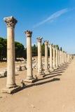 Kolumny w Ephesus Zdjęcie Royalty Free