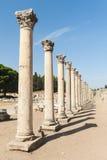 Kolumny w Ephesus Obraz Royalty Free
