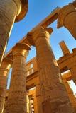 Kolumny w Karnak świątyni, Luxor Obraz Stock