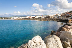 Kolymbari, Crète Image stock