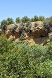 The Kolymbetra Garden at the Valle dei Templi - Agrigento, Sicily, Southern Italy. The Kolymbetra Garden at the Valle dei Templi - Agrigento, Sicily, in Southern stock images