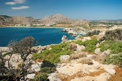 Kolymbia Royalty Free Stock Photos