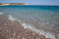 Kolymbia beach, Rhodes Royalty Free Stock Photography