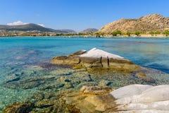 Kolymbithres beach Stock Photo