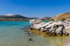 Kolymbithres beach Royalty Free Stock Image