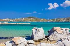 Kolymbithres beach, Paros island, Cyclades, Aegean, Greece Royalty Free Stock Images