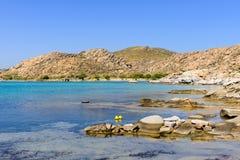 Kolymbithres beach royalty free stock photo